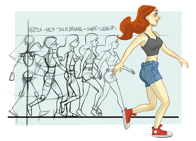 Workshop Character Design and Walk Cycle